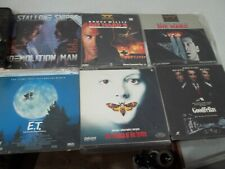 Laser Disc Movies action - Lot Of 12 FREE SHIPPING!!