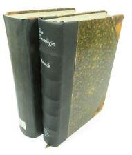 Set of (2) German Ancient Christian - Die Chronologie Altchristlichen (1904 HC)