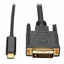 Tripp Lite USB C to DVI Adapter Cable [M/M], 1920 x 1080 [1080p], 6 (u444006d)