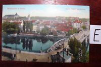 Postkarte Ansichtskarte Sachsen-Anhalt Lithografie Weissensees Saale