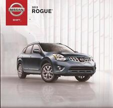 2013 13  Nissan Rogue  original sales brochure