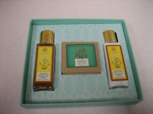 3 Piece Travel Set Butter Soap, Shower Wash, Body Lotion Made in India-GIFT