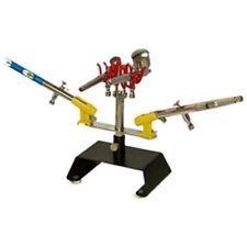 New Table Top AIRBRUSH HOLDER Station Stand Holds 4 Airbrushes Swivel Tilt Set