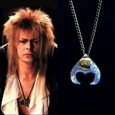 """The Labyrinth Necklace Goblin King Costume David Bowie Jareth Cosplay 24"""" Chain"""