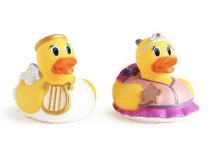 Munchkin White Hot Water Temperature Indicator Ducks 2 Pack Princess & Angel