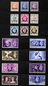 Tangier .. G.B. Issues overprinted . K.G V1 .. Mint,never hinged .. 6846
