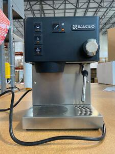 Rancilio Silvia Espresso Machine - Black - USED