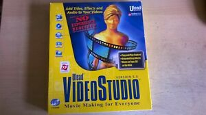 ULEAD: VIDEOSTUDIO VERSION 5 - MOVIE MAKING BOXED PC CD-ROM SOFTWARE WITH MANUAL