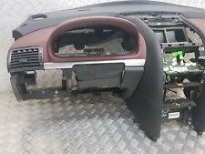 Planche tableau de bord Peugeot 407 coupé - cuir bordeaux