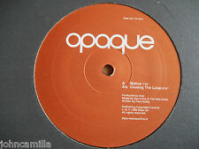 """OPAQUE - MALICE / CLOSING THE LOOP - 12"""" RECORD/VINYL - ARCHIVE - DOCUMENT 5"""