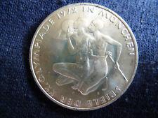 10 DM Gedenkmünze Olympia 1972 Silber *G*