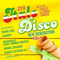 CD Zyx Italo Disco New Generation Vol.8 von Various Artists  2CDs