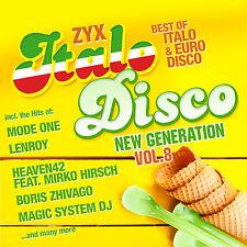 CD zyx Italo Disco New Generation vol.8 de various artists 2cds