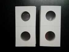 100 2x2 Quarter Cardboard Coin Holders Flips Qty Protector Washington NEW