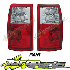 TAILLIGHTS PAIR SUIT HOLDEN COMMODORE VY VZ UTE WAGON CREWMAN SS CROSS 8 LAMPS