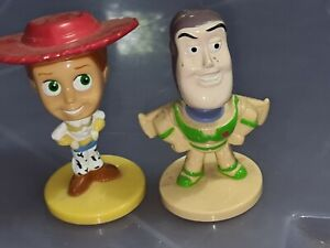 Kelloggs cereal toy Pixar Toy Story Buzz Lightyear Jesse bobble head cake topper