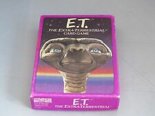 Vintage E.T.  Extra Terrestrial Card Game - complete and clean 1982