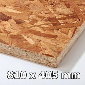 OSB 810 x 405 mm Holz / Verlegeplatte / Platte / Board * Verschiedene Dicke *