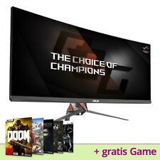 """ASUS ROG pg348q 34"""" pollici IPS 4k UHD Gaming LCD superfici curve lisce 3440x1440 100hz 3d G-Sync"""