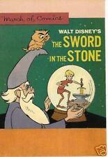 WALT DISNEY'S THE SWORD & THE STONE, #258, 1963 NM