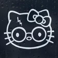 Hello Kitty Garry Potter Gracioso Coche O Portátil Calcomanía Vinilo Sticker