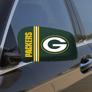 NFL Car Truck Mirror Cover / Sock Set FAST SHIP + 1 FREE COUNTRY FLAG AVAILABLE