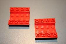 Lego Red Slope Inverted 45 Degrees 4x4 Ref.  4854  Harry Potter Hogwarts 4708