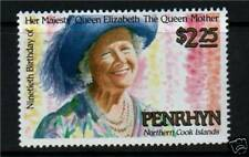 Penrhyn 1990 Queen Mother 90th Birthday SG445 MNH