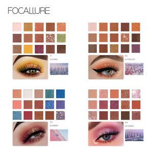 FOCALLURE Go Travel 15 Colors Eyeshadow Palette Makeup