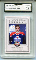2014 Leon Draisaitl First Round Phenoms Draft Rookie Gem Mint 10