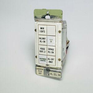 Insteon Smarthome Smartlabs KeypadLinc Dimmer 2486D 8 Button - White