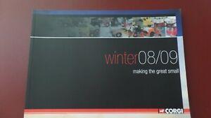 Corgi Winter 2008 to 2009 Catalogue - (Soft Cover)