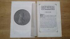 1843 Ritratto con Estratto: Luigi XII Re di Francia (Blois–Parigi)