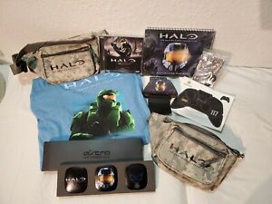 Halo Master Chief Collection Bundle- Promo Fanny Packs, Speaker Tags, Tshirt...