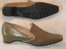 Kate Spade New York Slip on Stylish Loafers Dress Shoes Olive Green Wmn Sz 6.5 A