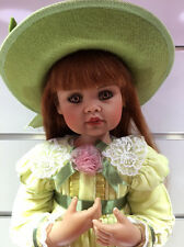 NEW 2001 Limited Edition JAN MCLEAN Artist Doll LUCY Limited Edition Red Head