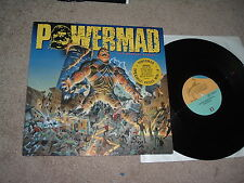 POWERMAD The Madness Begins '88 LP US Thrash/power 1st pr IMPORT Hyp Stick MINT-