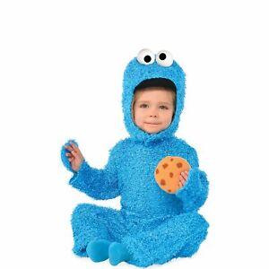 Cookie Monster Halloween Costume for Babies, Sesame Street, with Hood