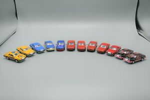 Matchbox & Majorette Ford T-Bird Lot of 12 Diecast Vehicles Turbo Coupe EX-NM!