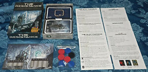 The Resistance Indie Boards & Cards Don Eskridge's New Sealed inside box NIB