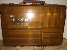 VINTAGE PLANO 1122 MAGNUM DOUBLE SIDED TACKLE BOX Fishing Fish