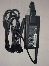 Genuine Slim HP AC Adapter Power Supply: 65W 19.5V/5V smart pin USB for travel