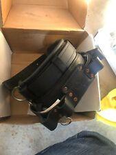 Brand New Buckingham Short Back Leather Mobility Stacked D Ring Belt Size 21