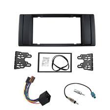 Radio Facia Harness Antenna for BMW 5 Series E39 X5 E53 dash kit fascia Plate