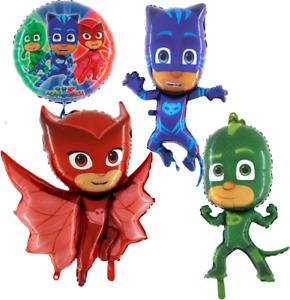 PJ Masks Pyjamahelden Luftballons Geburtstag Folienballon Ballon  xxl