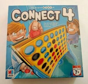 The Original Game of Connect 4 Milton Bradley Ages 7+ 2006 New Sealed Edition