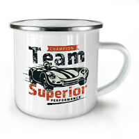 Supercar NEW Enamel Tea Mug 10 oz | Wellcoda