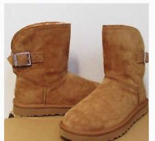 NIB UGG REMORA Buckle SZ 6 Girl's SZ 4 Chestnut *Retail $160* WARM & PRETTY!!!