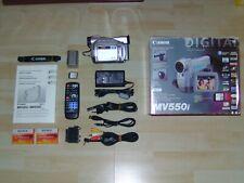 Canon MV 550i Mini DV Digital Camcorder in OVP