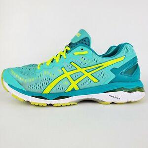 Asics Gel Kayano 23 Womens Size 9.5 T696N Cockatoo Green Running Shoes F350616